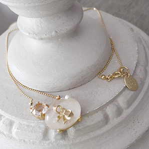 Junco Paris Jewelry_리본 네크리스